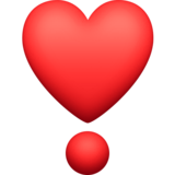 Heart Exclamation on Facebook 3.1