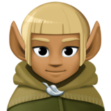 Man Elf: Medium-Dark Skin Tone on Facebook 3.1