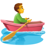 Man Rowing Boat on Facebook 3.1