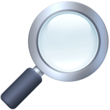 Magnifying Glass Tilted Right on Facebook 3.1