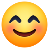 Smiling Face With Smiling Eyes on Facebook 3.1