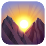 Sunrise Over Mountains on Facebook 3.1