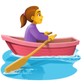 Woman Rowing Boat on Facebook 3.1