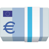 Euro Banknote on Facebook 4.0