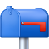 Closed Mailbox with Lowered Flag on Facebook 4.0