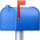 Closed Mailbox With Raised Flag on Facebook 4.0