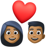 Couple With Heart, Type-5 on Facebook 4.0