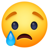 Crying Face on Facebook 4.0