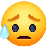 Sad but Relieved Face on Facebook 4.0