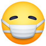 Face With Medical Mask on Facebook 4.0