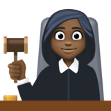 Woman Judge: Dark Skin Tone on Facebook 4.0