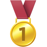 1st Place Medal on Facebook 4.0