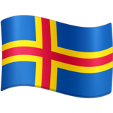 Flag: Åland Islands on Facebook 4.0