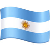 Flag: Argentina on Facebook 4.0