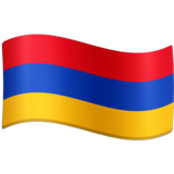 Flag: Armenia on Facebook 4.0