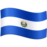 Flag: El Salvador on Facebook 4.0