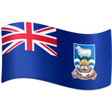 Flag: Falkland Islands on Facebook 4.0