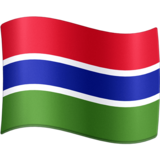 Flag: Gambia on Facebook 4.0