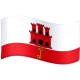 Flag: Gibraltar on Facebook 4.0