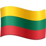Flag: Lithuania on Facebook 4.0