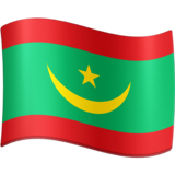 Flag: Mauritania on Facebook 4.0