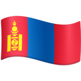 Flag: Mongolia on Facebook 4.0