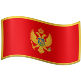 Flag: Montenegro on Facebook 4.0