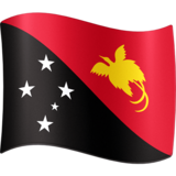 Flag: Papua New Guinea on Facebook 4.0