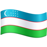 Flag: Uzbekistan on Facebook 4.0