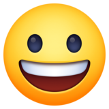 Grinning Face on Facebook 4.0