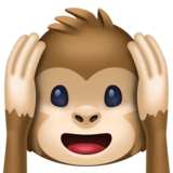 Hear-No-Evil Monkey on Facebook 4.0