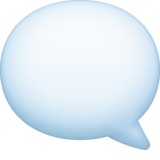 Left Speech Bubble on Facebook 4.0