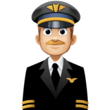 Man Pilot: Medium-Light Skin Tone on Facebook 4.0