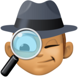 Man Detective: Medium Skin Tone on Facebook 4.0