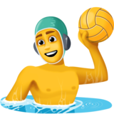 Man Playing Water Polo on Facebook 4.0