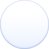 White Circle on Facebook 4.0