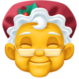 Mrs. Claus on Facebook 4.0