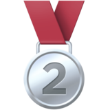 2nd Place Medal on Facebook 4.0