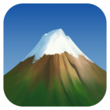 Snow-Capped Mountain on Facebook 4.0