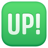 Up! Button on Facebook 4.0