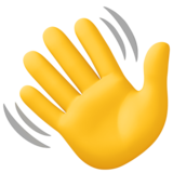 Waving Hand on Facebook 4.0