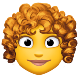 Woman: Curly Hair on Facebook 4.0
