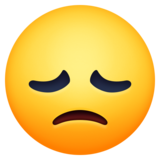 Disappointed Face on Facebook 13.0