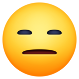 Expressionless Face on Facebook 13.0