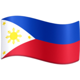 Flag: Philippines on Facebook 13.0