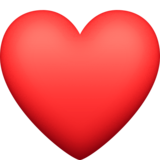Red Heart on Facebook 13.0