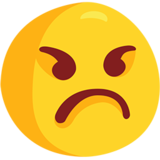 Angry Face Emoji On Messenger 10
