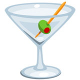 Cocktail Glass on Messenger 1.0