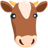 Cow Face on Messenger 1.0