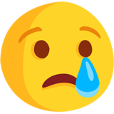Crying Face on Messenger 1.0
